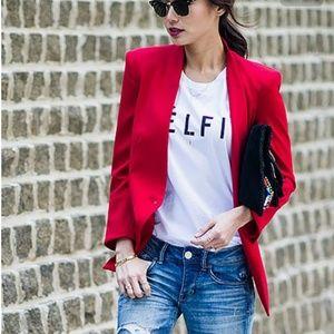 《 Worth 》Red Fitted Blazer